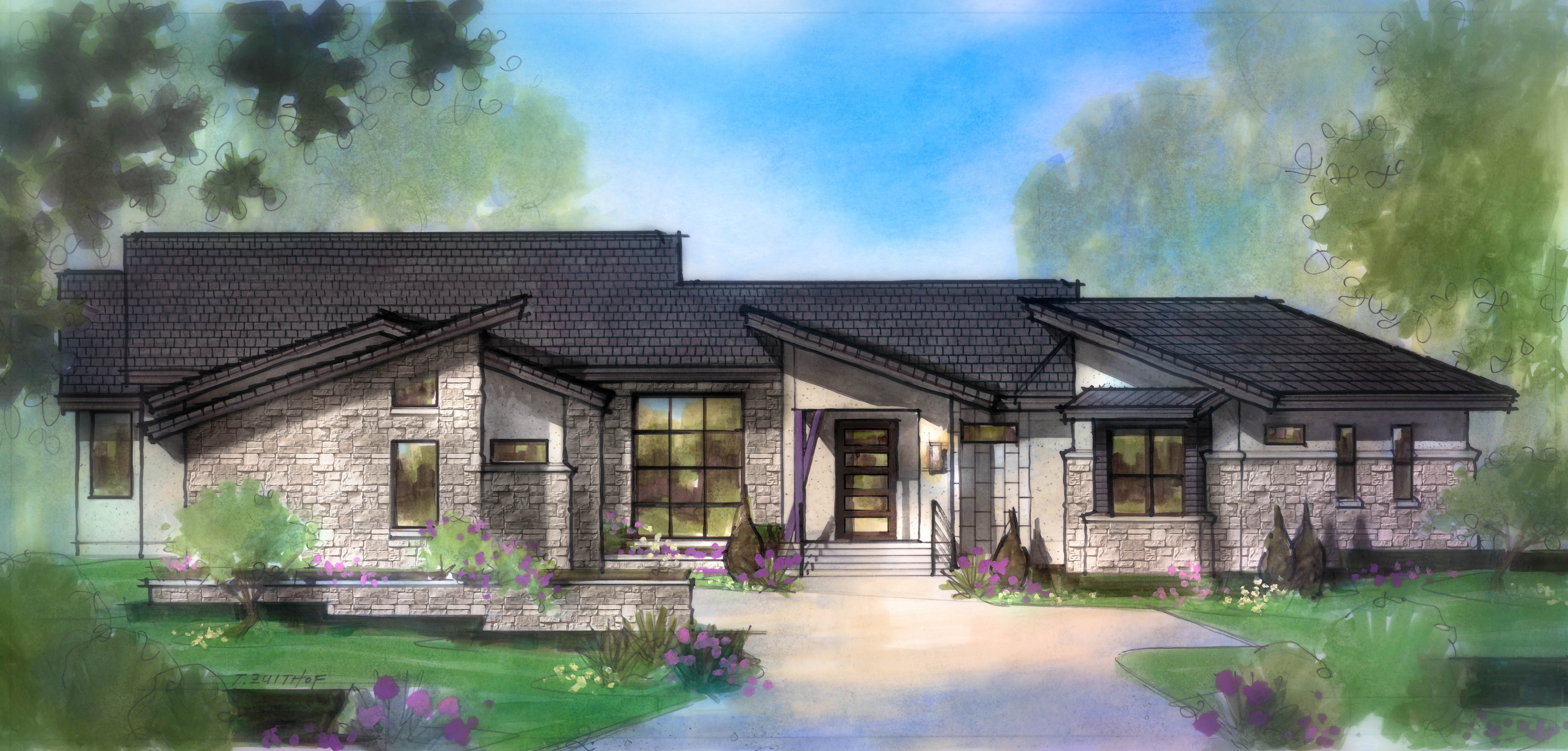 Believe It! One-Story New Construction in The Hills