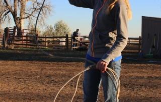 roping