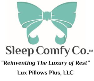 Sleep Comfy Co™ Lux Pillows Plus Logo