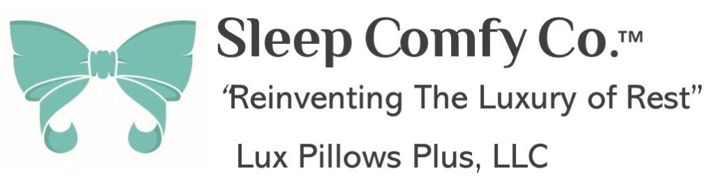 Sleep Comfy Co™ Sleep better accessories Reinventing the Luxury of Rest Lux Pillows Pluss