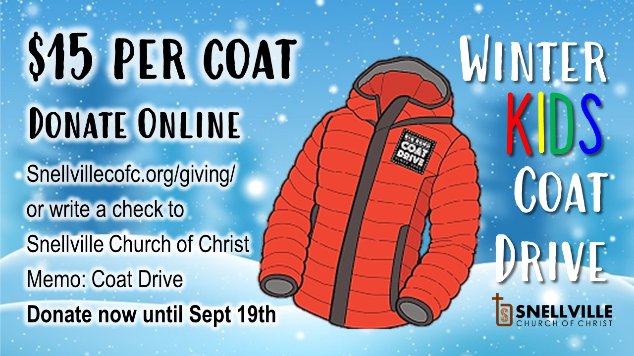 Coat Drive Info