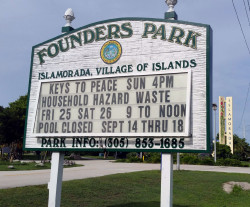 founders park marquee