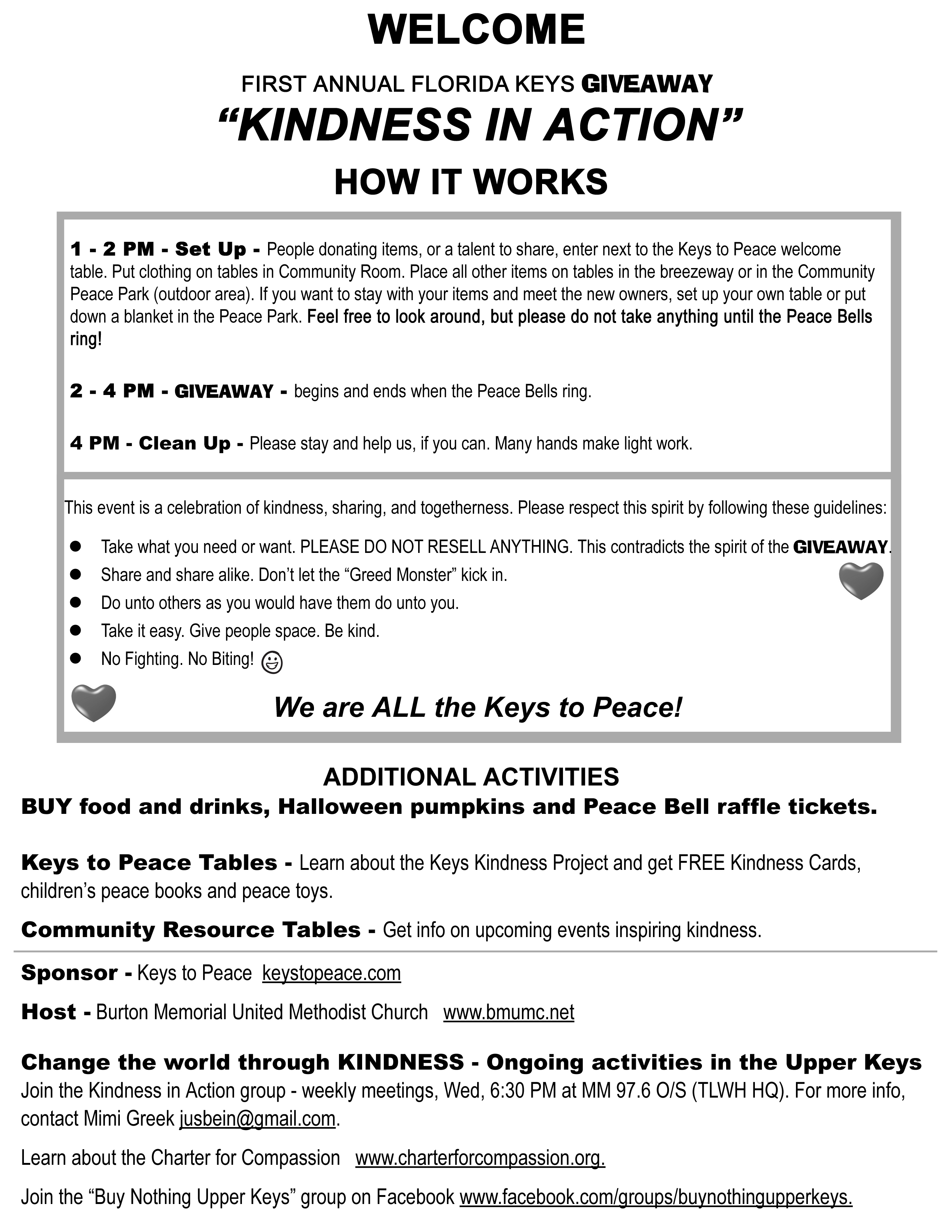 giveaway instructions (English)