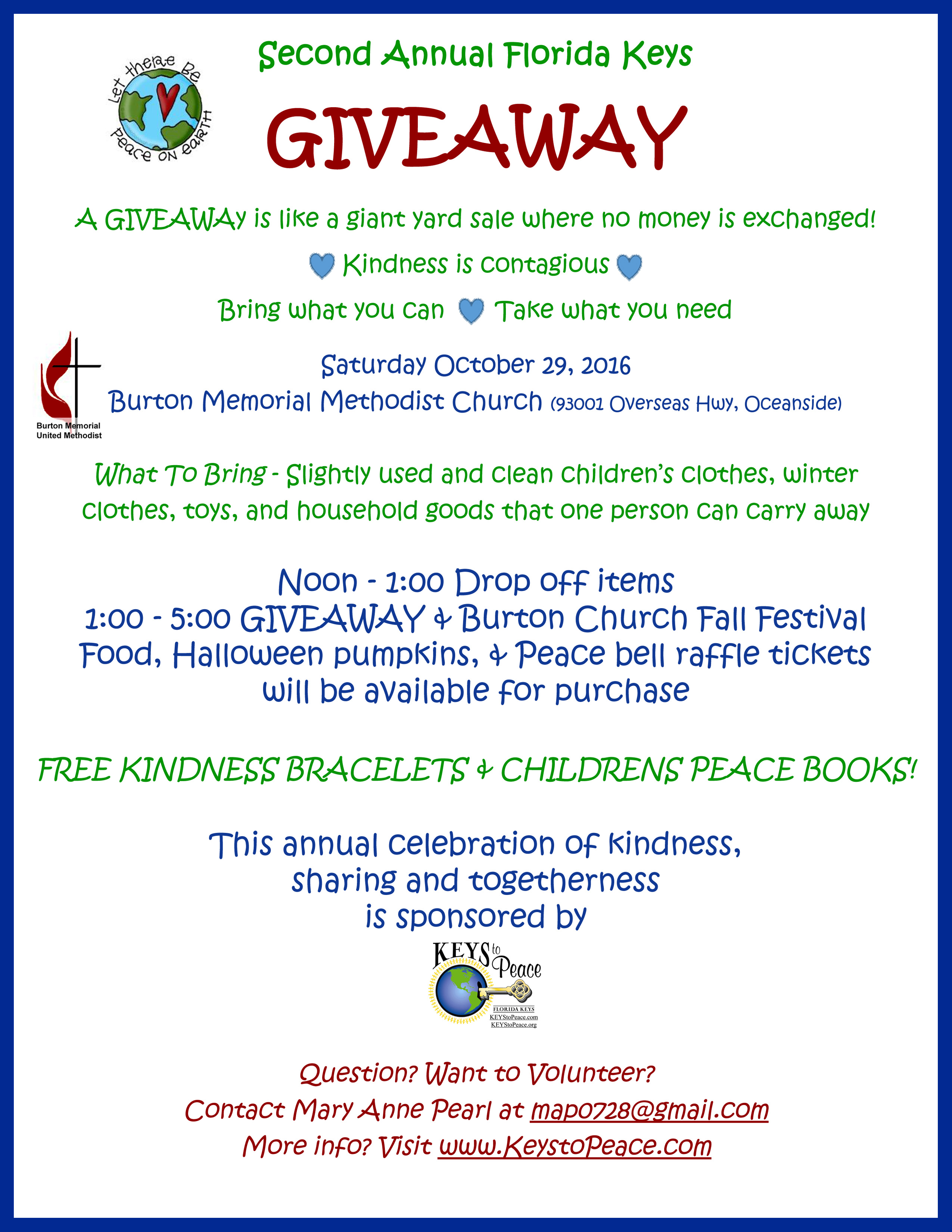 second_annual_giveaway_flyer