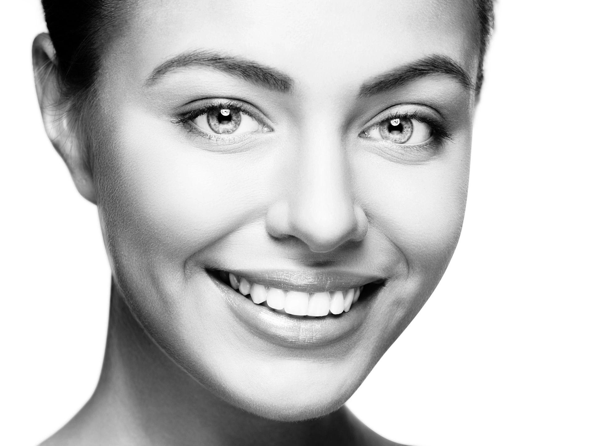 Smiling, Beautiful woman