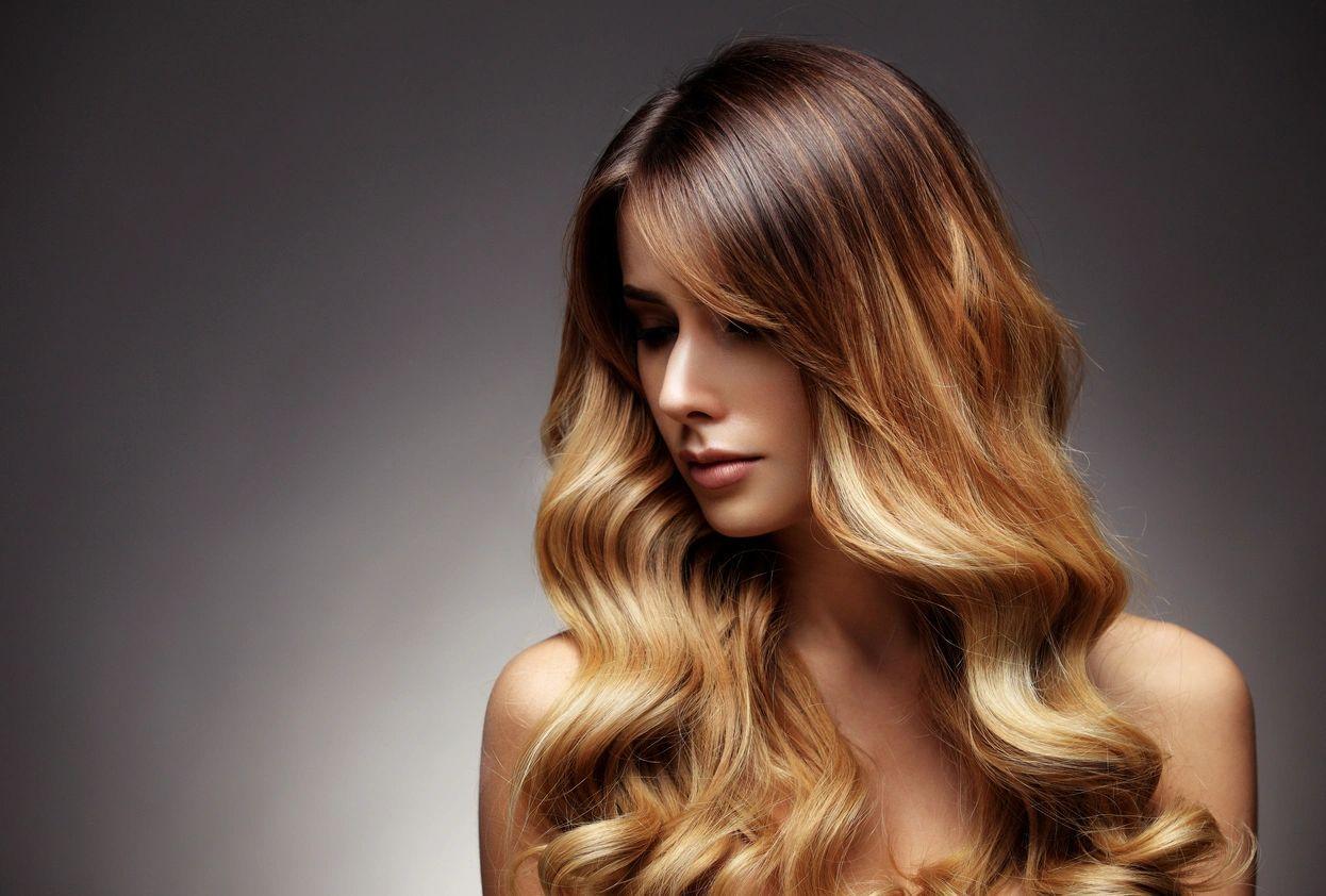 Beautful woman with freshly groomed hair