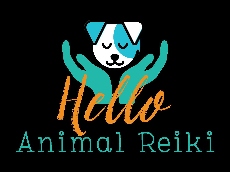 Hello Animal Reiki Logo