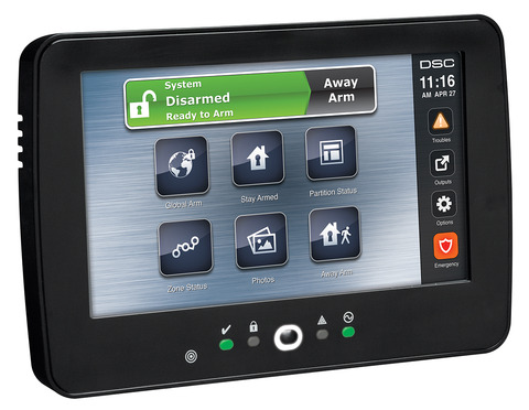 7 inch TouchScreen Alarm Keypad with Prox Support HS2TCHP $170.00