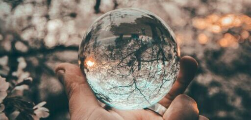 reflective orb