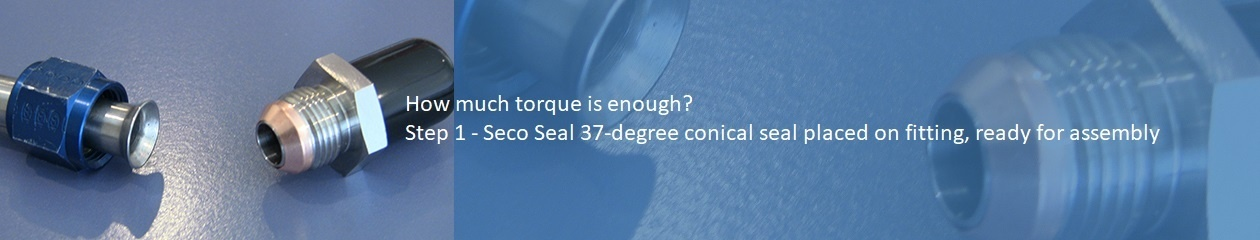 Analog Method to determine proper amount of torque for a SECO7 flare saver - Step 1