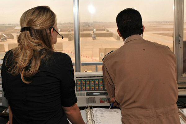 Training Iraqi Airman in Taji Tower
