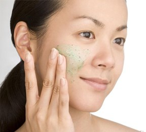 Exfoliating regularly can help keep your skin from drying out.