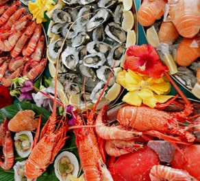 Seafood is one of the best foods for healthy skin.
