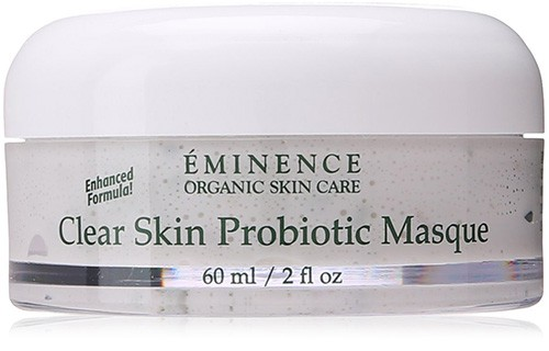We highly recommend Eminence's Clear Skin Probiotic Masque for your skin care regimen.