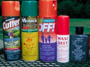 Bug spray works great to keep ticks off you and prevent Lyme disease.