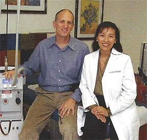 Asher Milgrom PhD and Alice Pien MD (circa 2006)