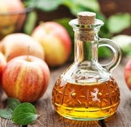 Apple cider vinegar is a natural way to get rid of skin tags