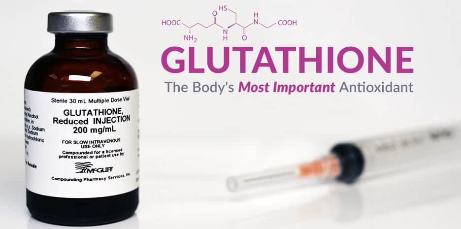 Glutathione is the body's most important antioxidant and plays a major role in the health of every tissue and organ in the human body including your skin.