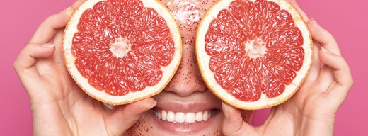 Creating a peeling mask out of blended fruit is one of the most common skin health tips from dermatologists.