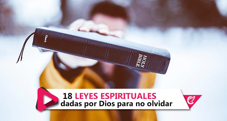 18 Leyes espirituales dadas por #Dios para no olvidar #CelestialStereo