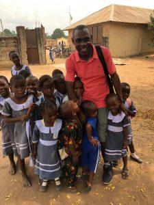 Father Kingsley Ihejirika and the Orphans of Obike