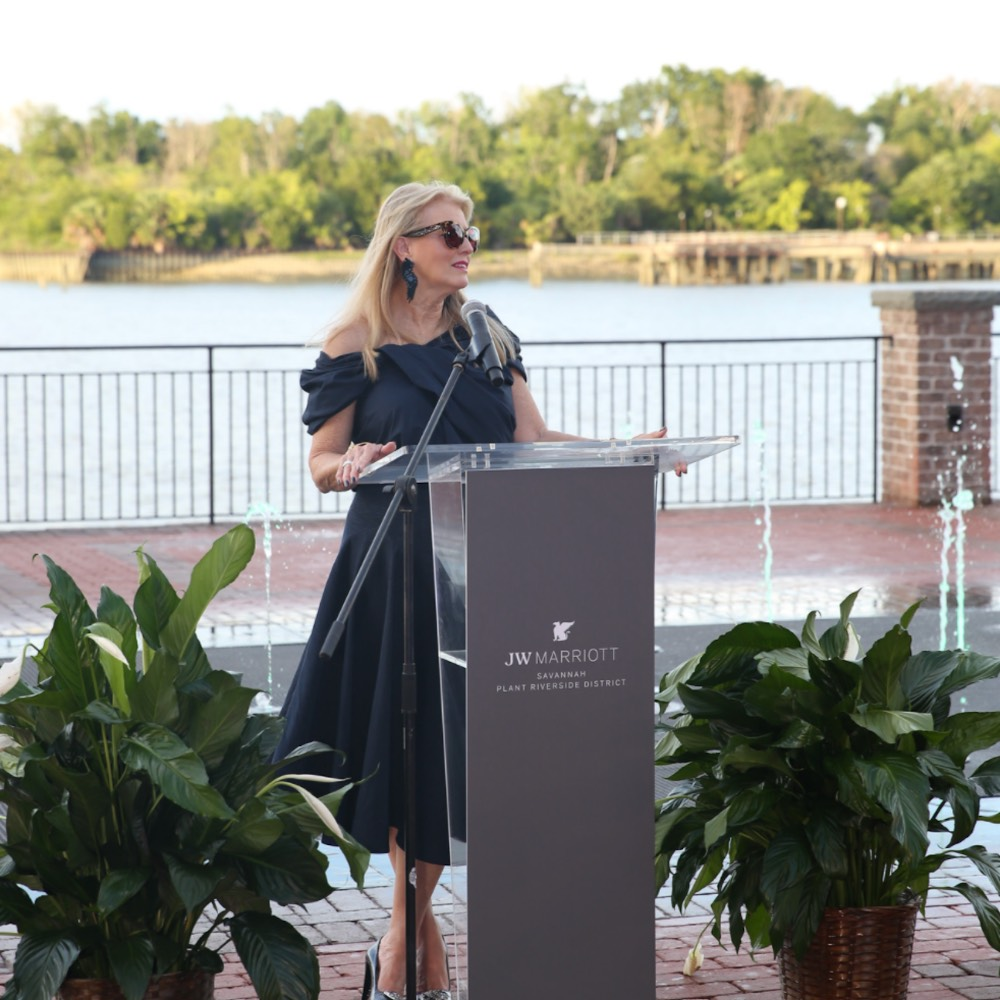 Elaine Seabolt Speaks at Faces of the South Gala