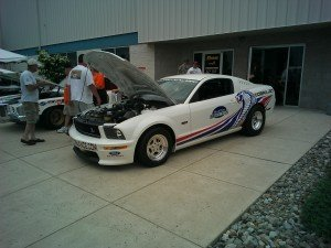 Pypes Mustang Show 2014