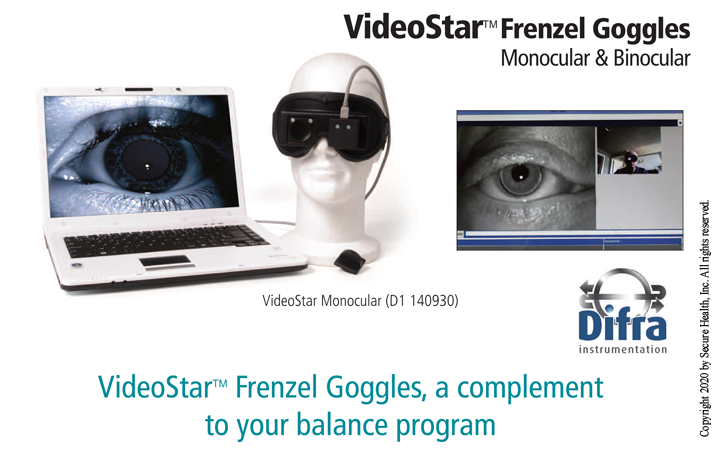 Difra Video Frenzel Goggles
