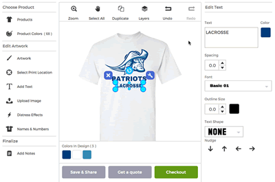 Creates Your Own Shirts Online