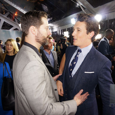 Mandeville Films and Ziegfeld Theater and Insurgent NYC Premiere and Todd Lieberman and Miles Teller