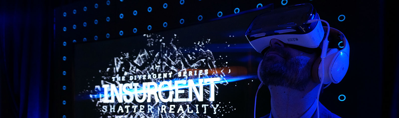 Insurgent Junket: <br>Panels, Posters & Virtual Reality