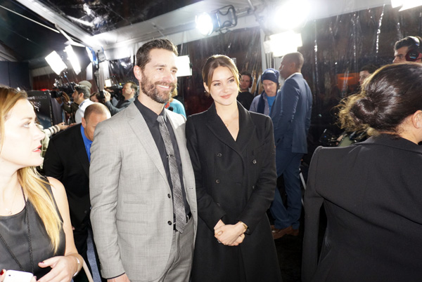 Mandeville Films and Ziegfeld Theater and Insurgent NYC Premiere and Todd Lieberman and Shailene Woodley