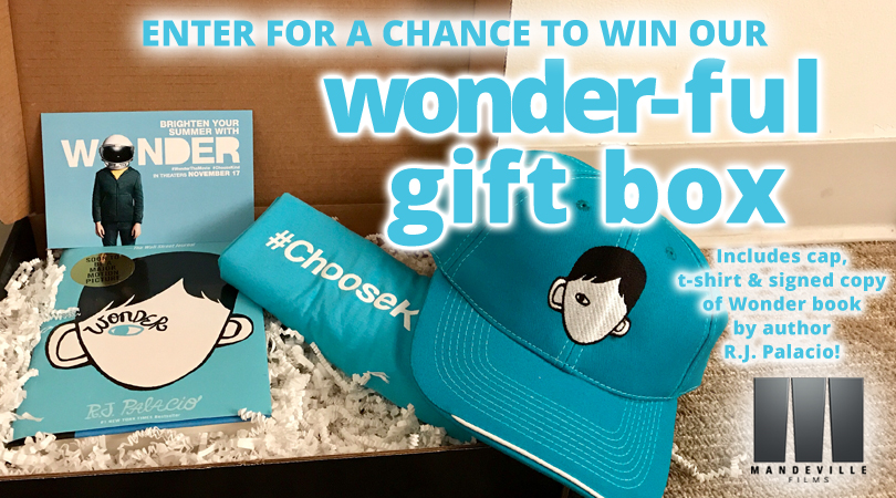 Enter for a Chance to Win our wonder-ful gift box #sweeps