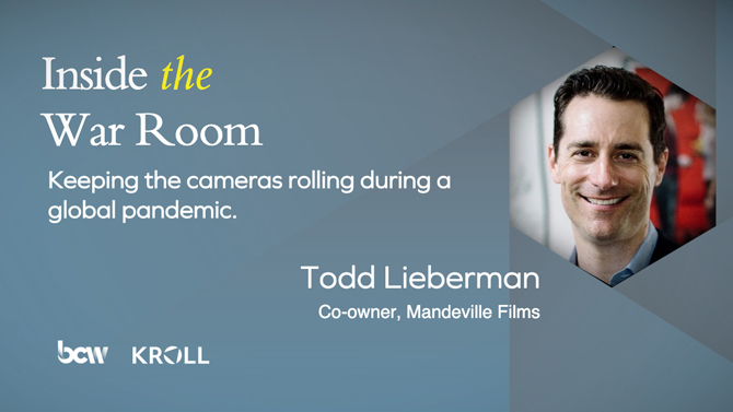 Mandeville Films' Todd Lieberman on COVID-19's impact on the film industry