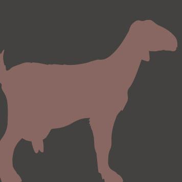 nubian goat icon Yellow River Wildlife Sanctuary