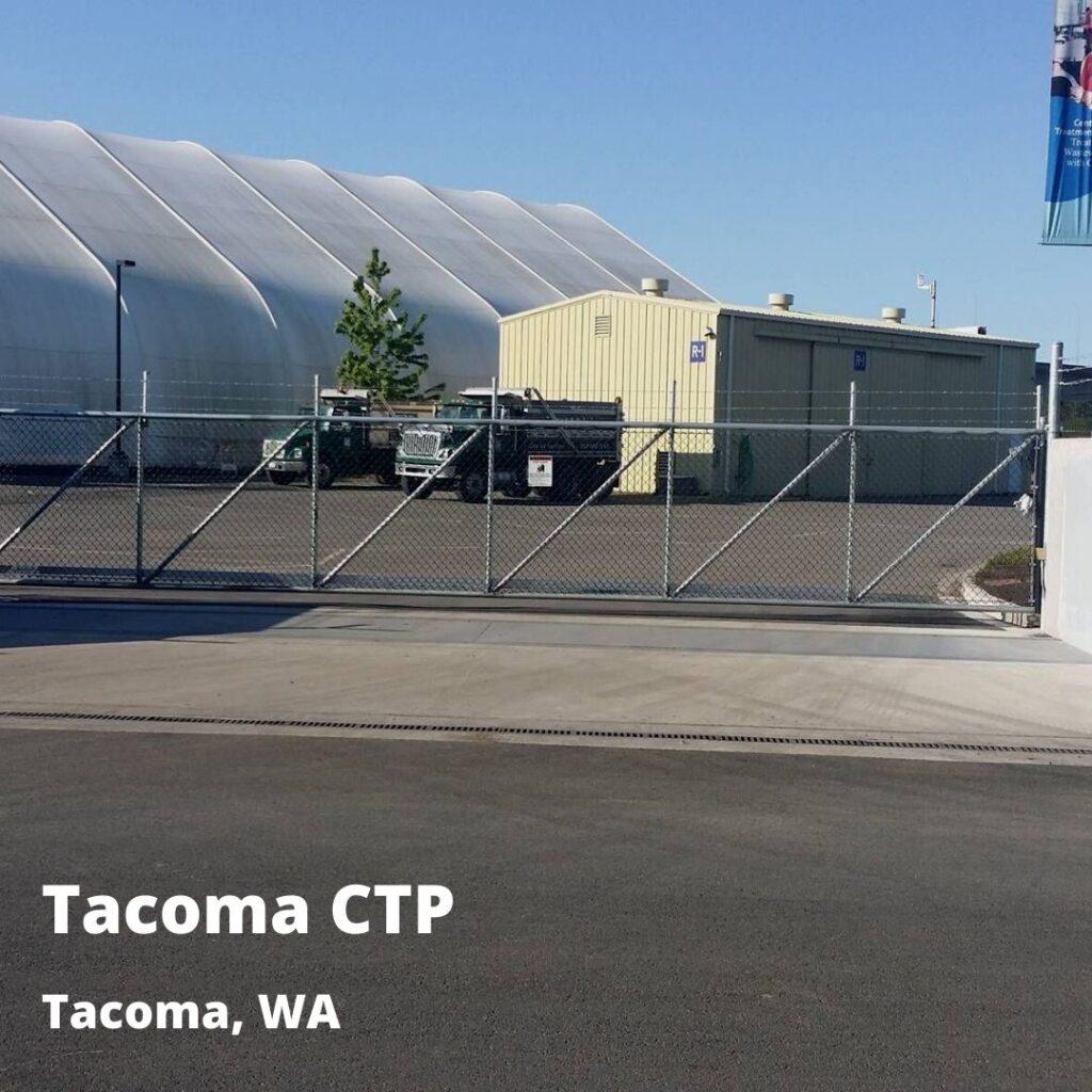 floodgate at Tacoma CTP