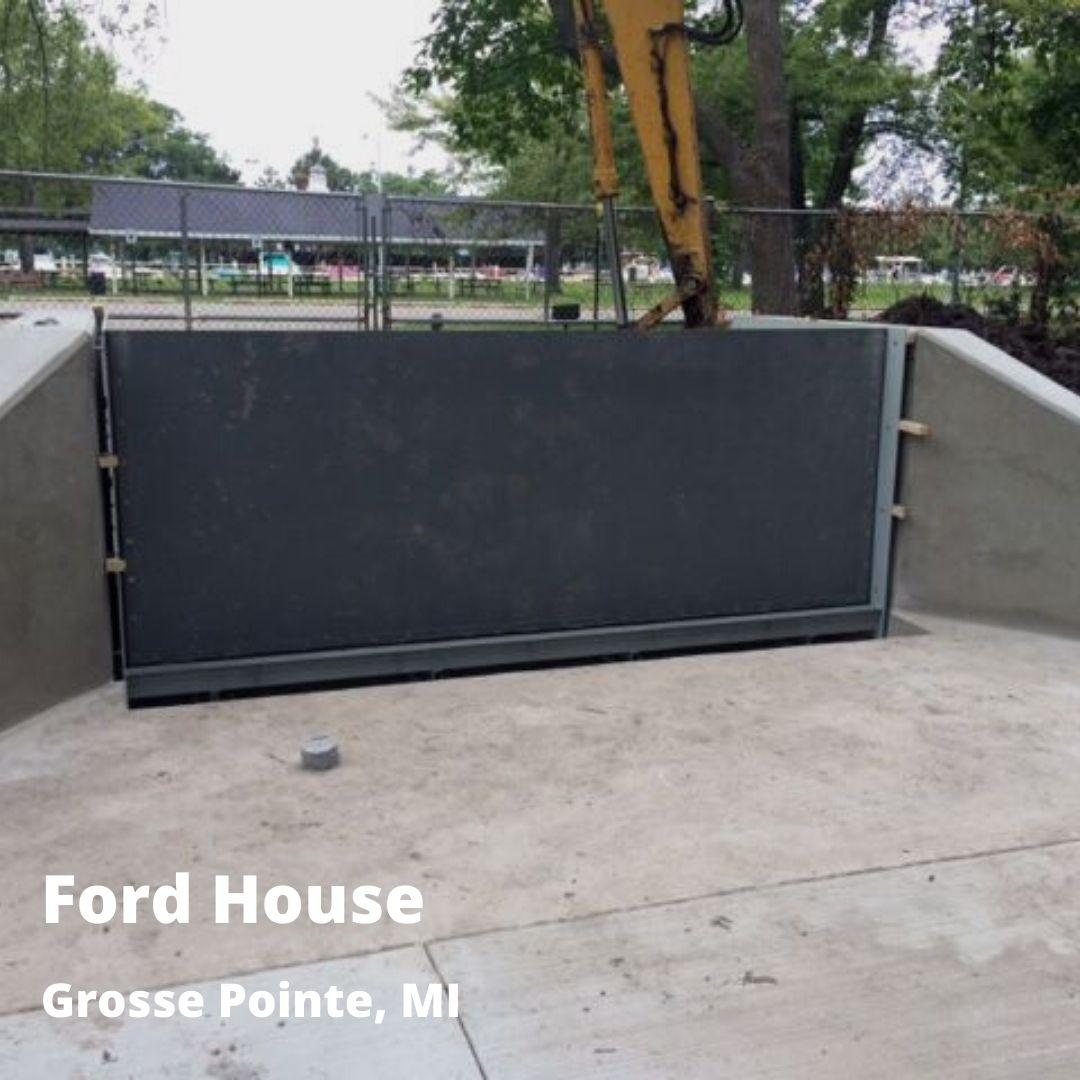 residential flood barrier