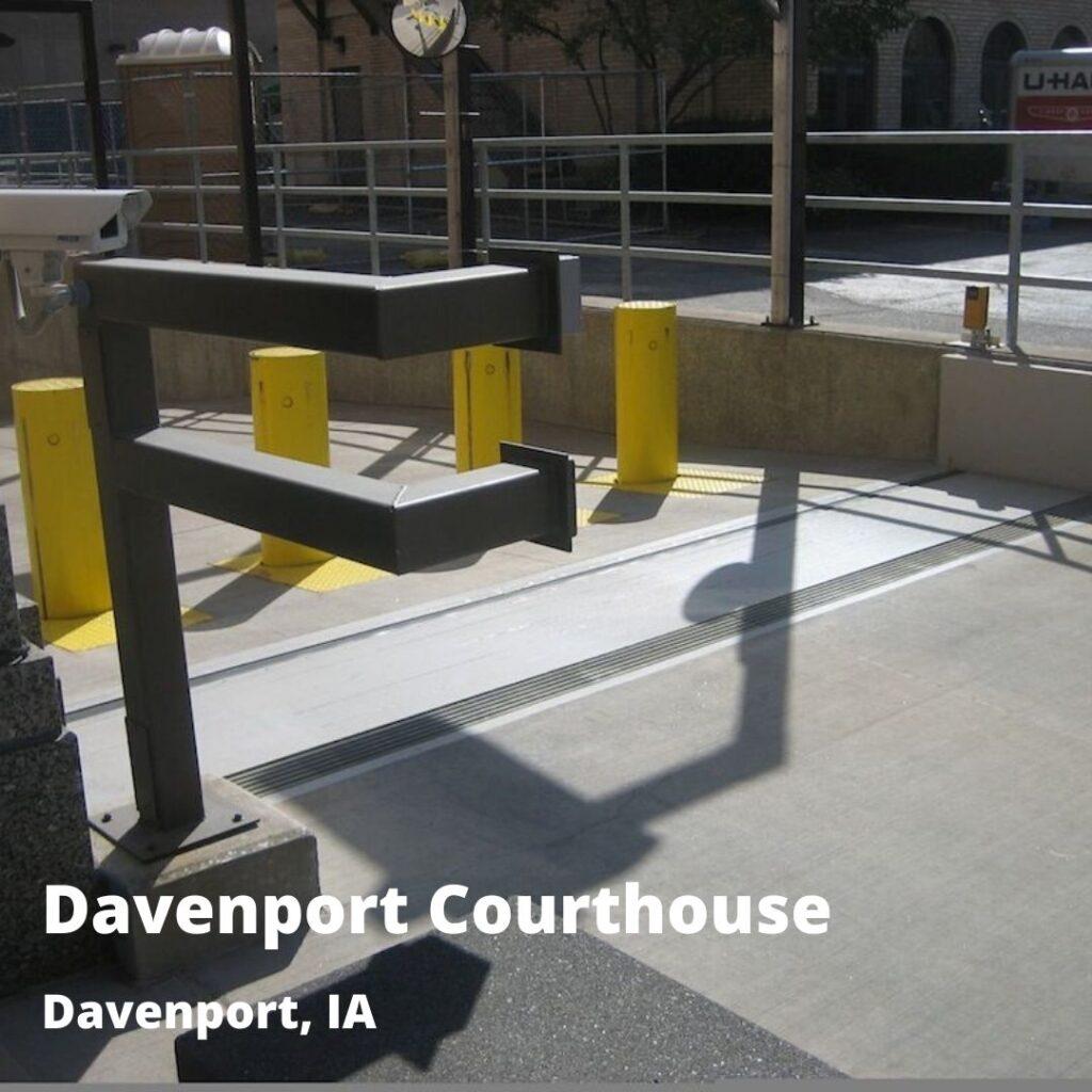 courthouse flood barrier