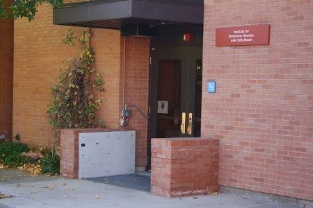 automatic floodgate at CU Boulder