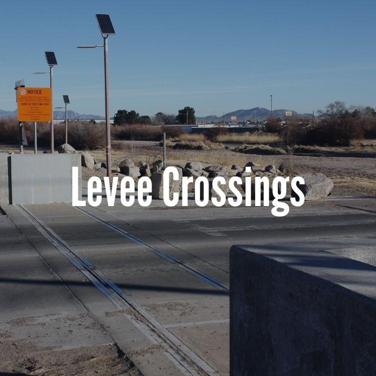 levee crossing