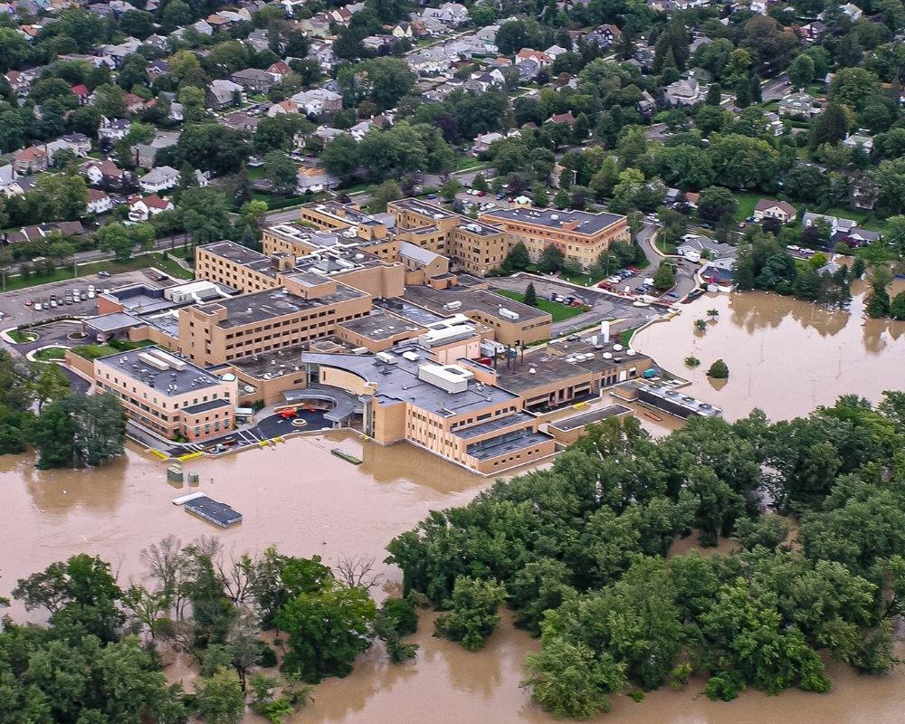 lourdes hospital flood save