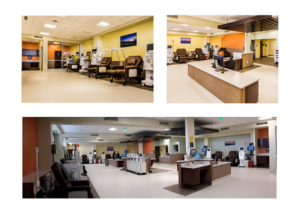 University of Virginia Staunton Outpatient Dialysis Clinic: 17 Patient Stations