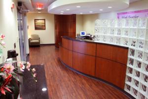 Sentara Breast Cancer Center Lobby