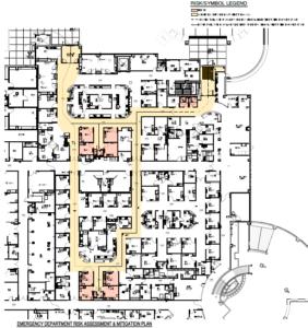 Sentara Rockingham Memorial Hospital's Emergency Department Behavioral Health Treatment Areas- Risk Assessment & Safety Improvements