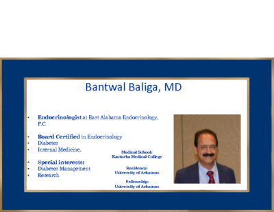 What Is New In Diabetes – Bantwal Baliga, MD