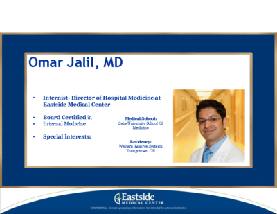 S.O.S -Save Our Septics-Omar Jalil, MD