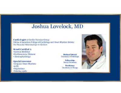 Syncope Diagnostics and treatment – Josh Lovelock, MD