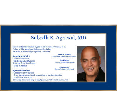 Welcome Synergy – Subodh Agrawal, MD