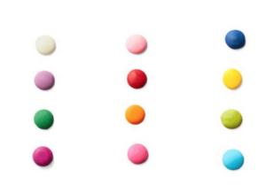 custom colors candy melts
