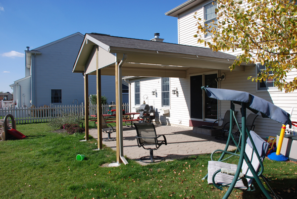 Climatemaster Roof Backyard Patio